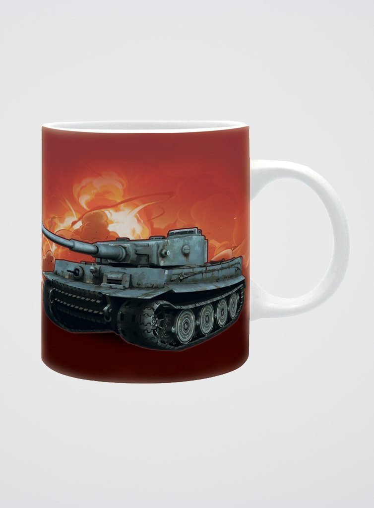 World of Tanks Mug Blueprint - The Koyo Store