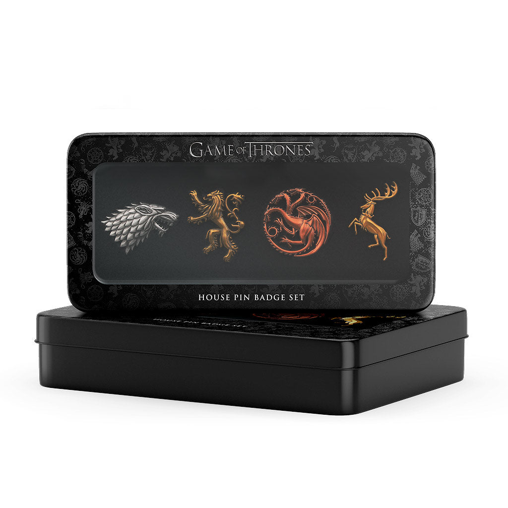 Game of Thrones 4 House Pin Set - The Koyo Store