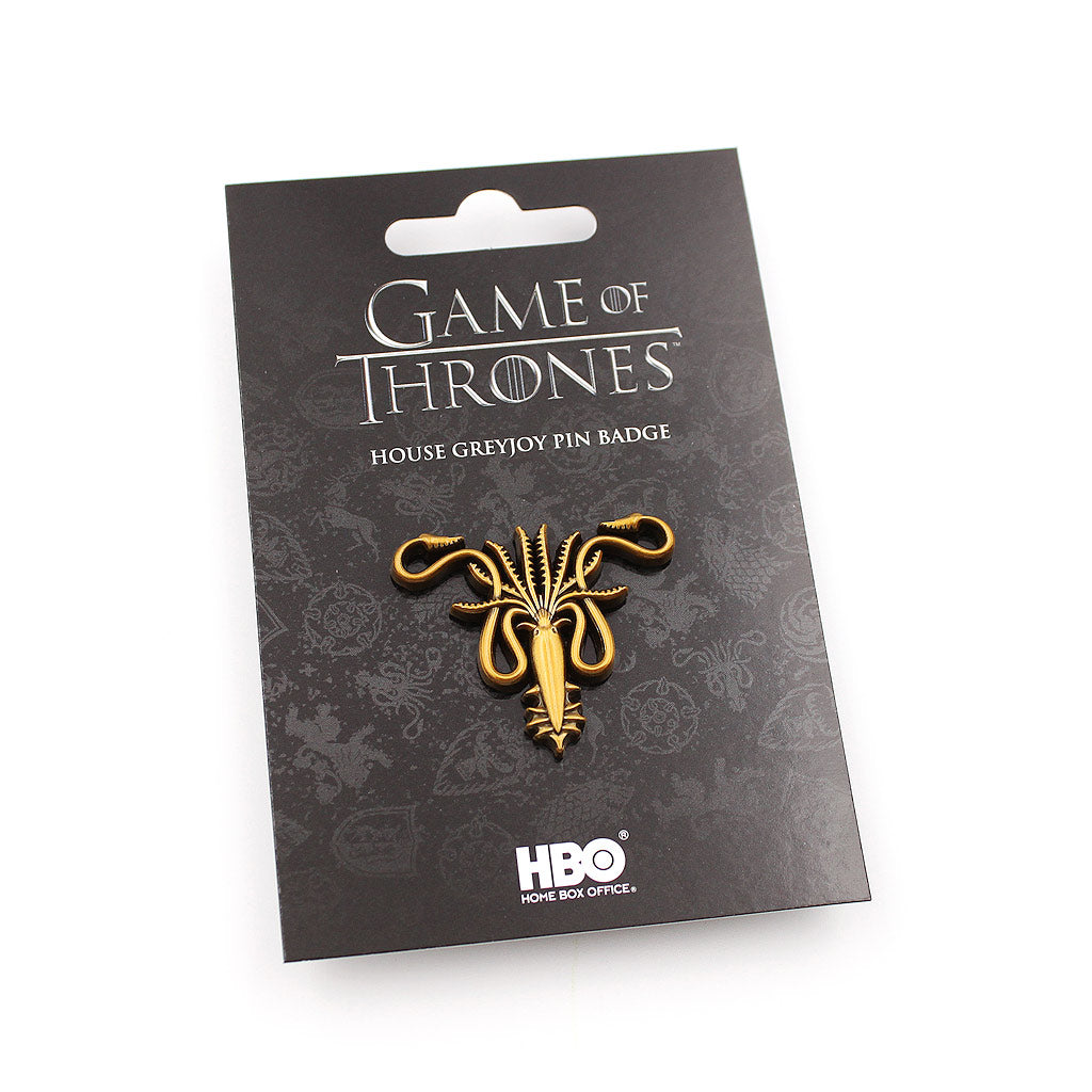 Game of Thrones House Greyjoy Pin - The Koyo Store