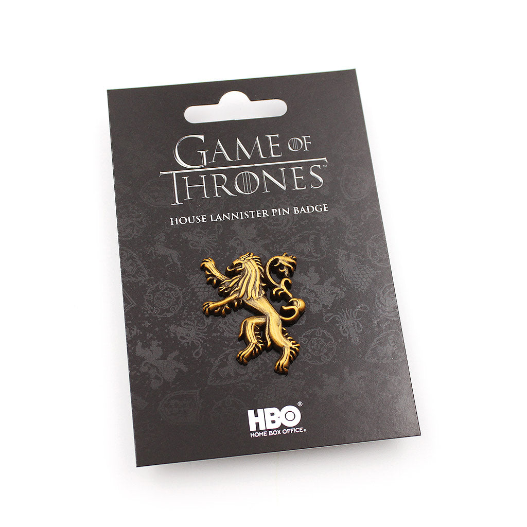 Game of Thrones House Lannister Pin - The Koyo Store
