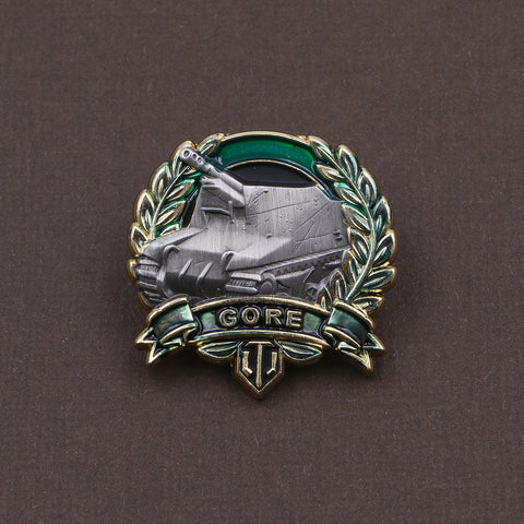 World of Tanks Gore's Medal Pin - The Koyo Store