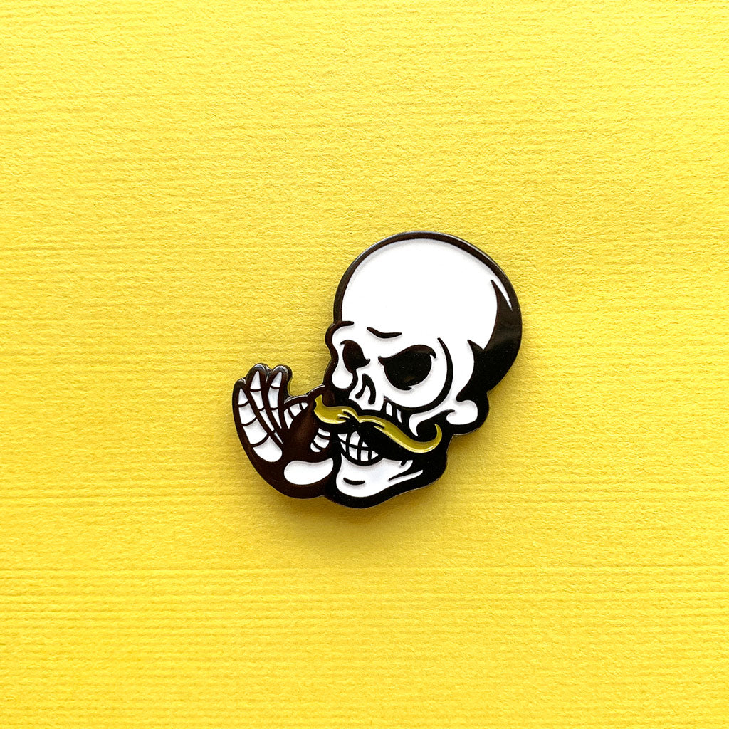 Griefdrums Logo Pin - The Koyo Store