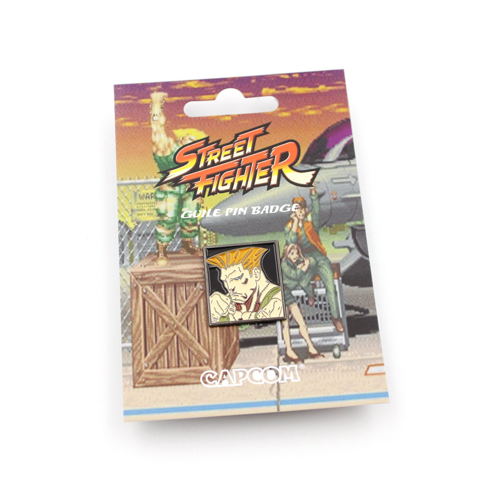 Guile Street Fighter Pin - The Koyo Store