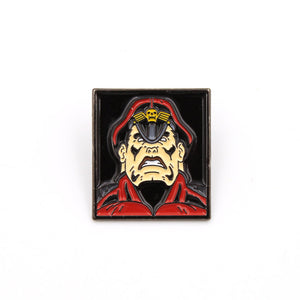 M. Bison Street Fighter Pin - The Koyo Store