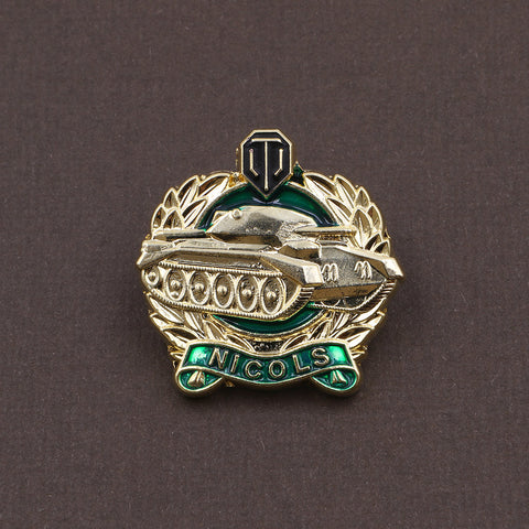 World of Tanks Nicols Medal Pin - The Koyo Store