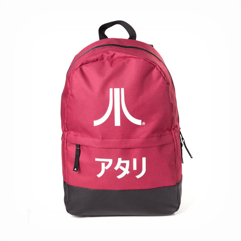 Official Atari - Japanese Logo Red Backpack - The Koyo Store