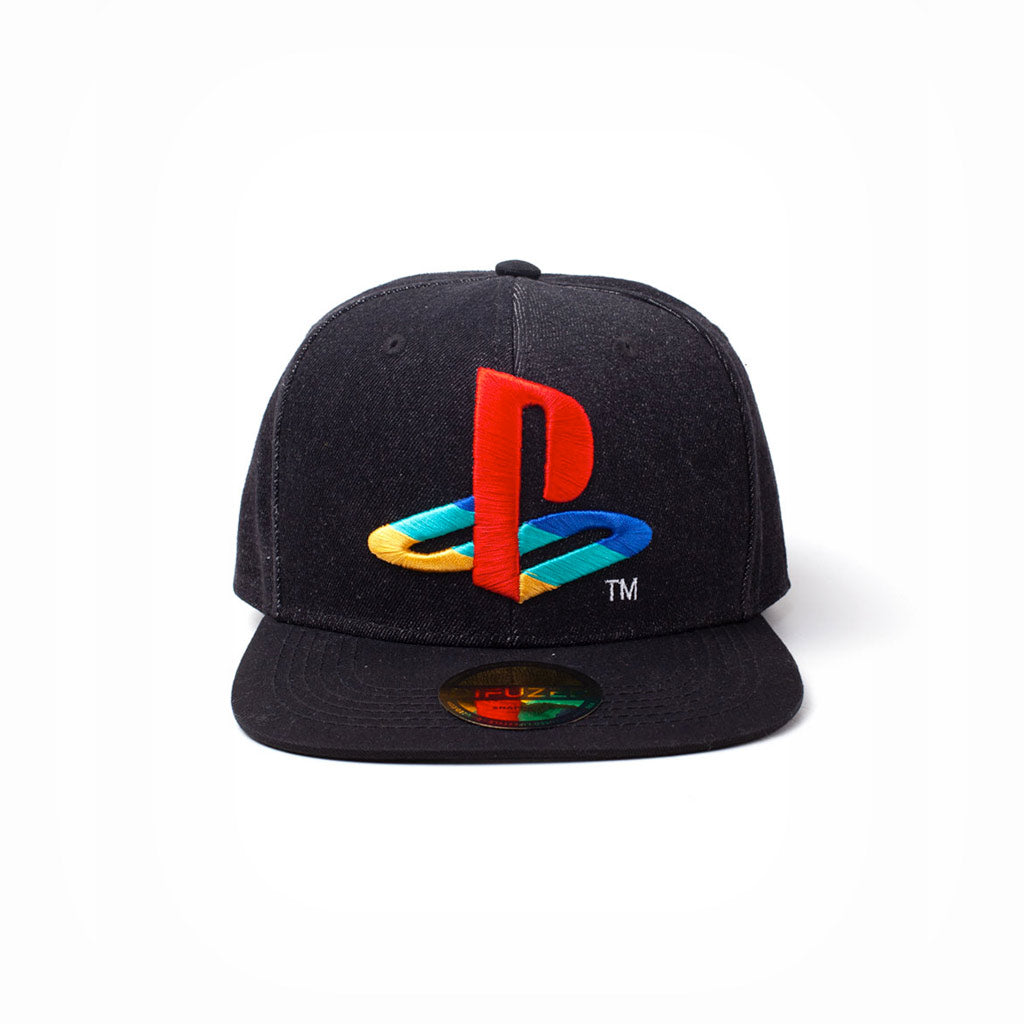Official Playstation - Denim Logo Snapback - The Koyo Store