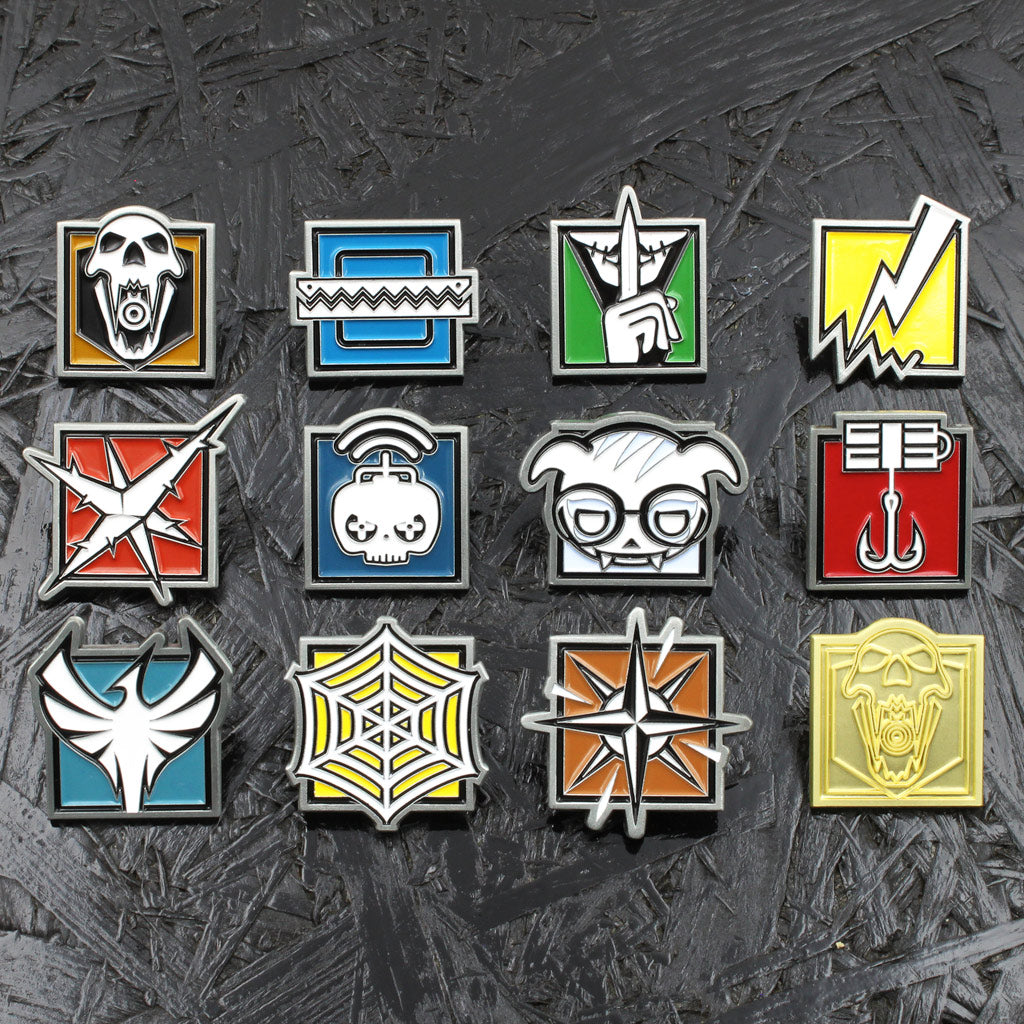 Operator Pin Bundle Series 2 - Six Collection - The Koyo Store