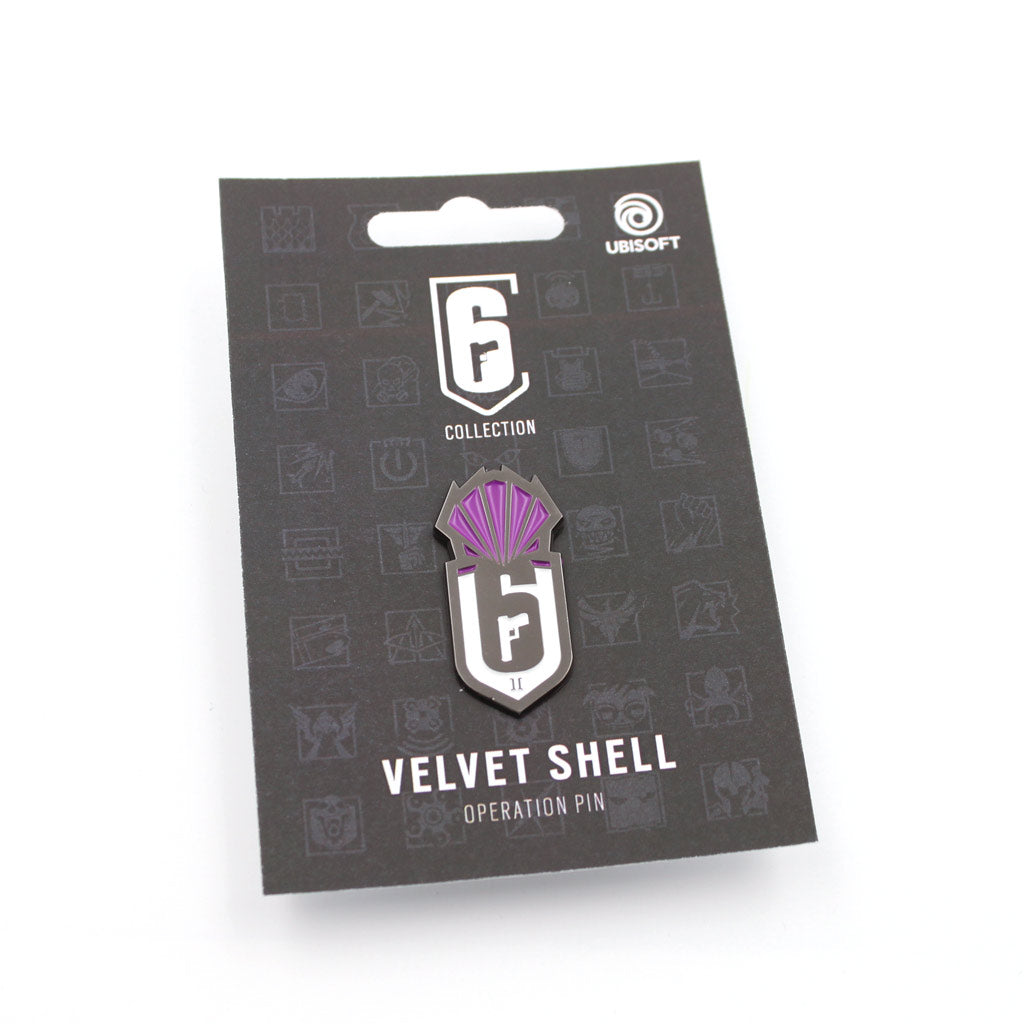 Operation Velvet Shell Pin - The Koyo Store