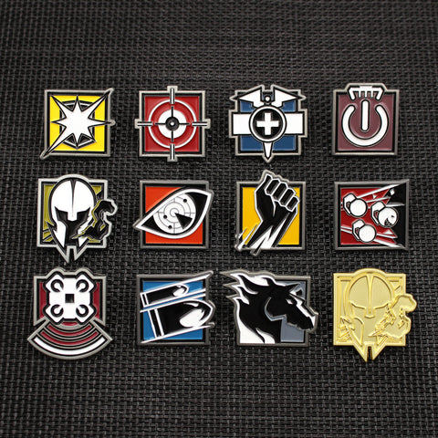 Operator Pin Bundle Series 3 - Six Collection