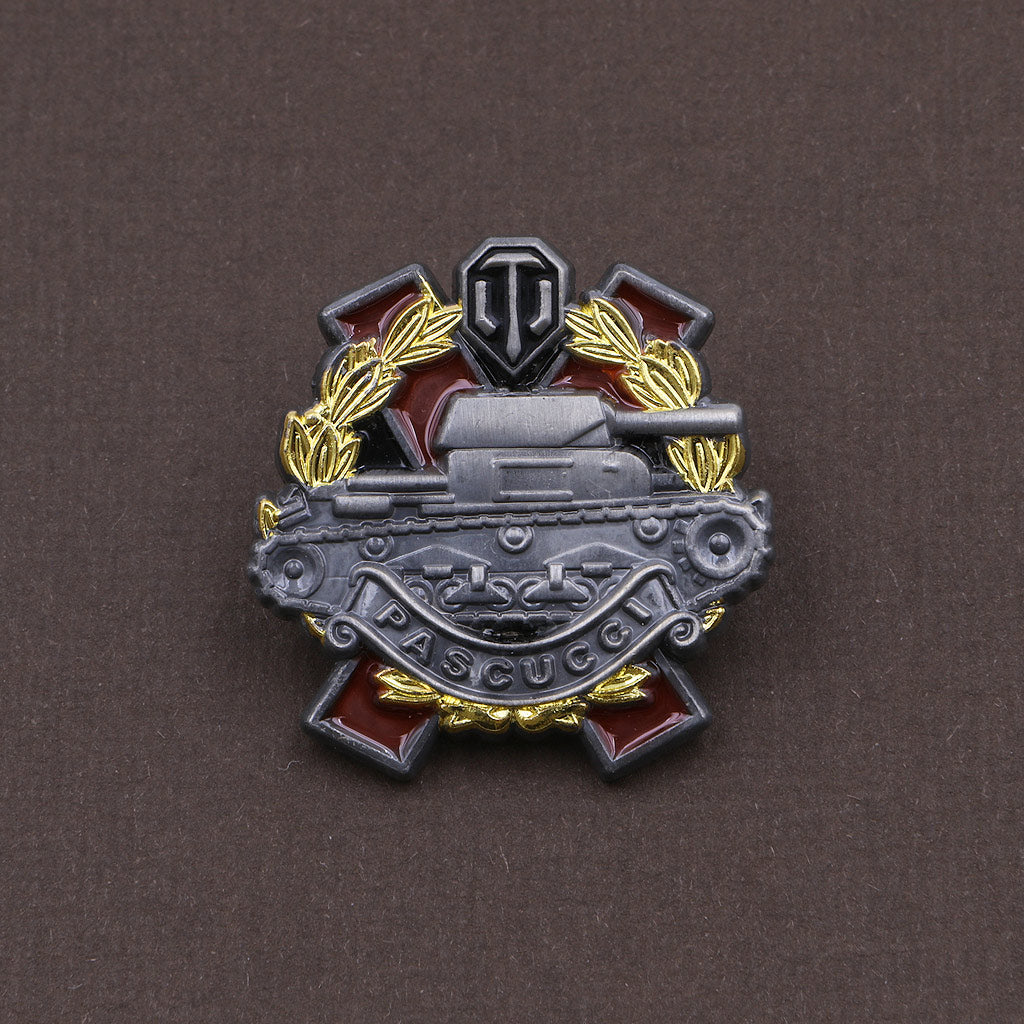 World of Tanks Pascucci's Medal Pin - The Koyo Store