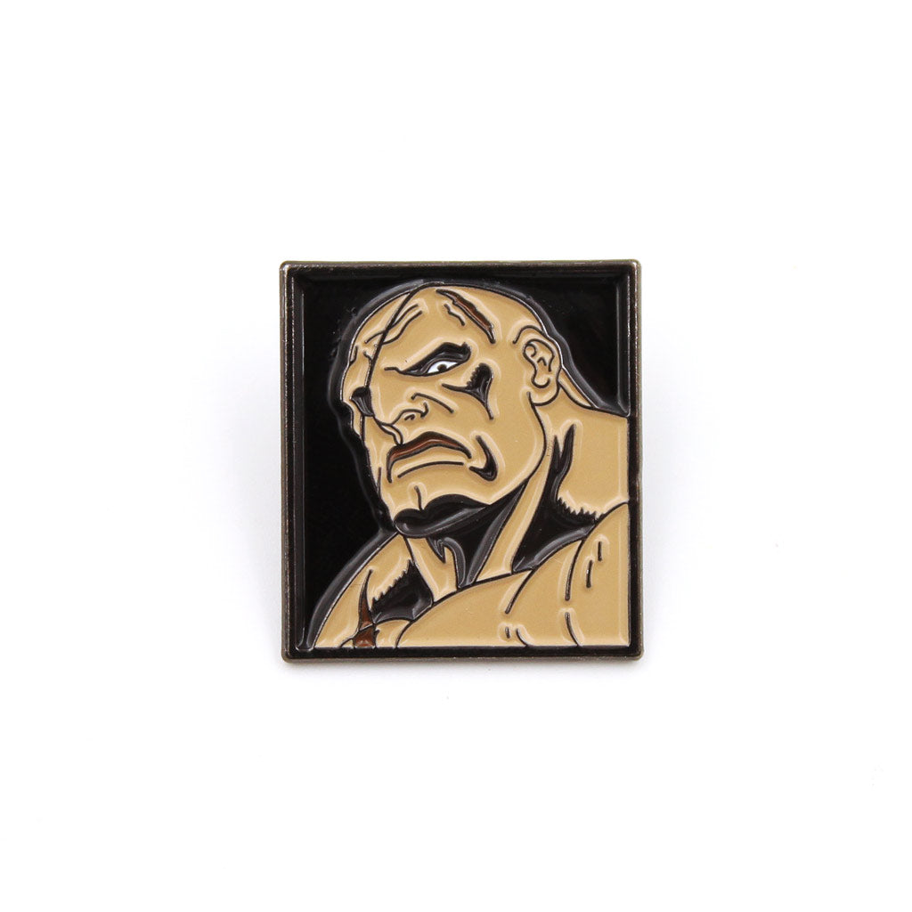 Sagat Street Fighter Pin - The Koyo Store