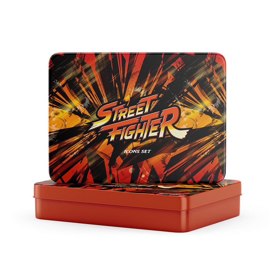 Street Fighter Iconic Symbols Set - The Koyo Store