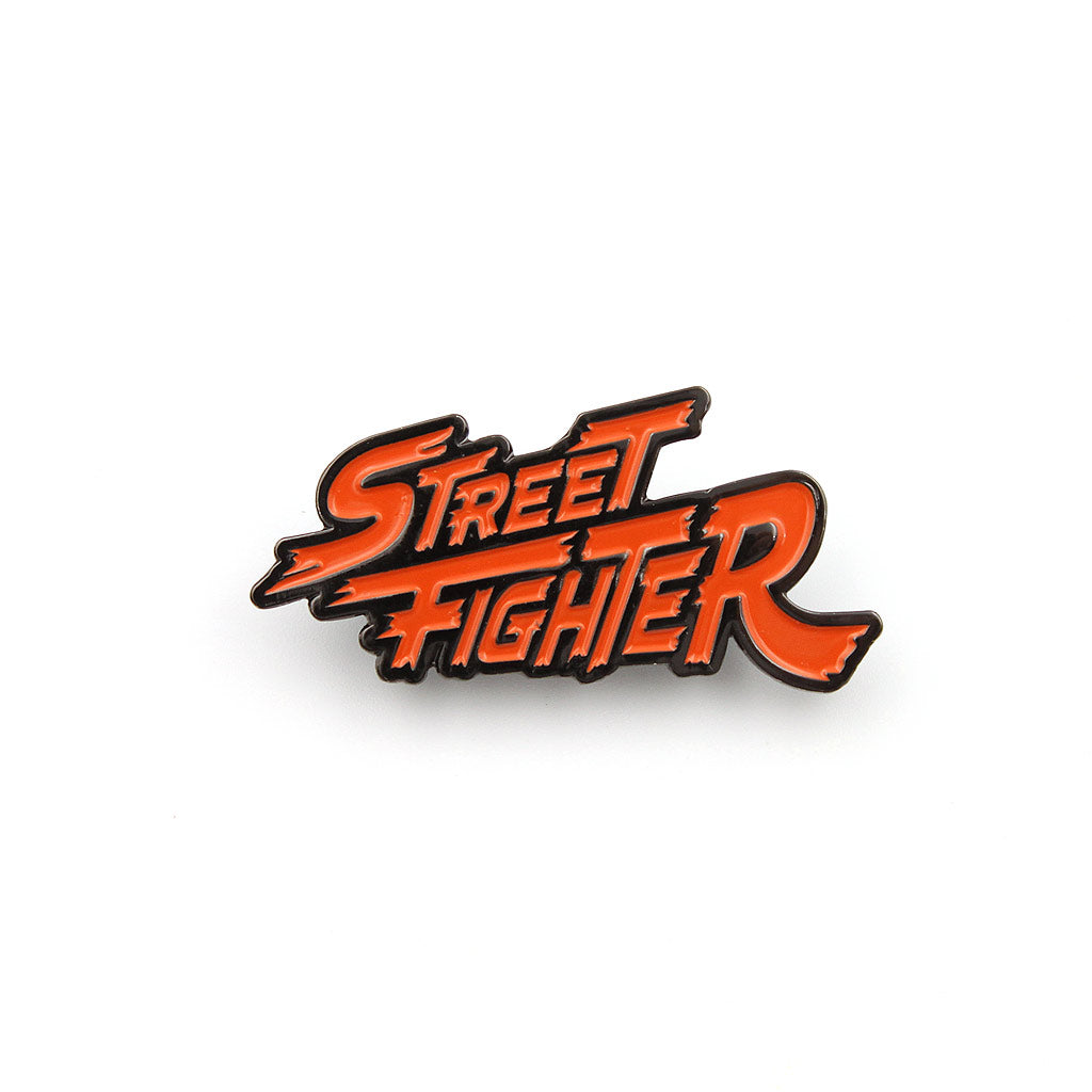 Street Fighter Logo Pin - The Koyo Store