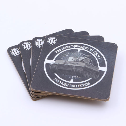 Official World of Tanks Tiger Collection Coaster Set - The Koyo Store