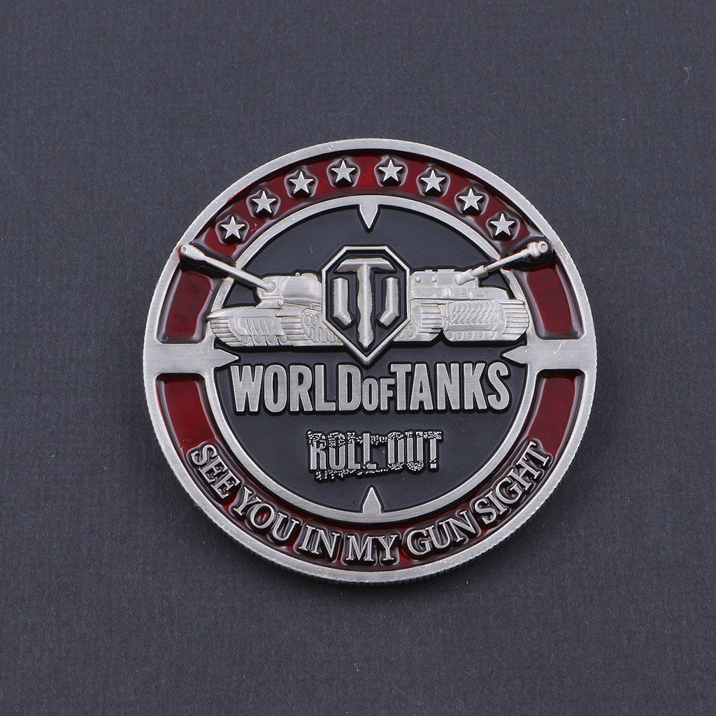 World of Tanks Confederate Coin - The Koyo Store