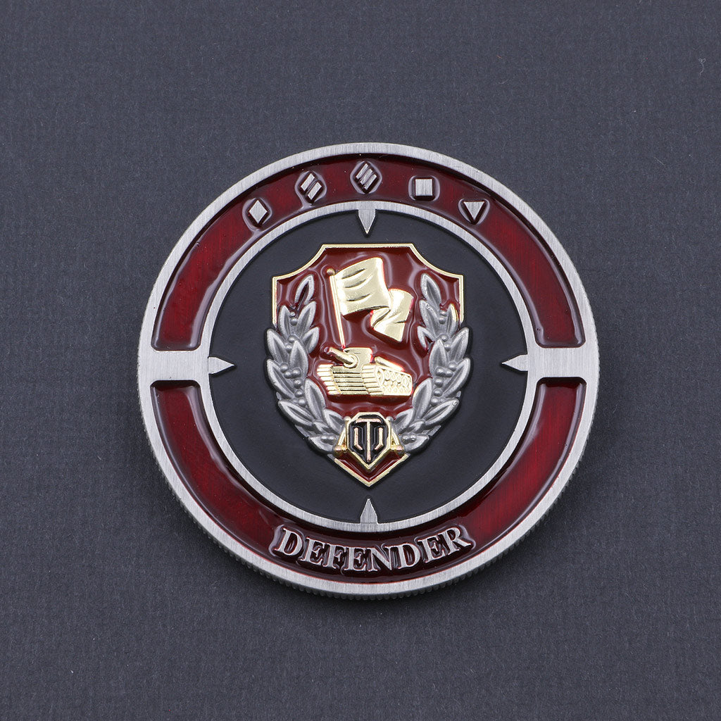 World of Tanks Defender Coin - The Koyo Store
