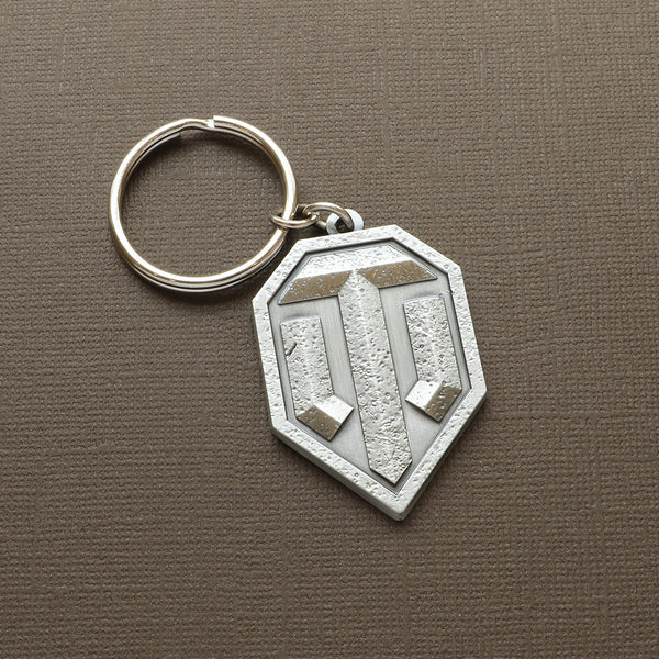 World of Tanks Logo Keyring - The Koyo Store