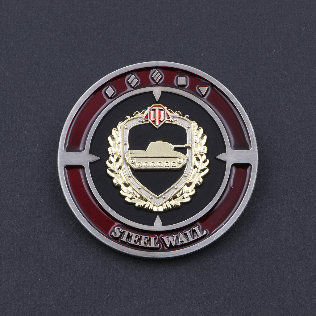 World of Tanks Steel Wall Coin - The Koyo Store