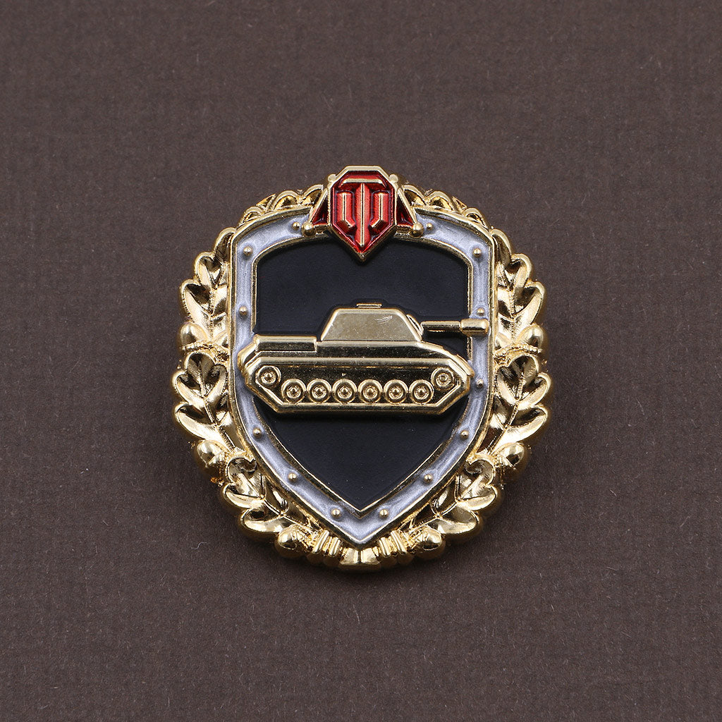 World of Tanks Steel Wall Pin - The Koyo Store