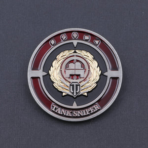 World of Tanks Tank Sniper Coin - The Koyo Store