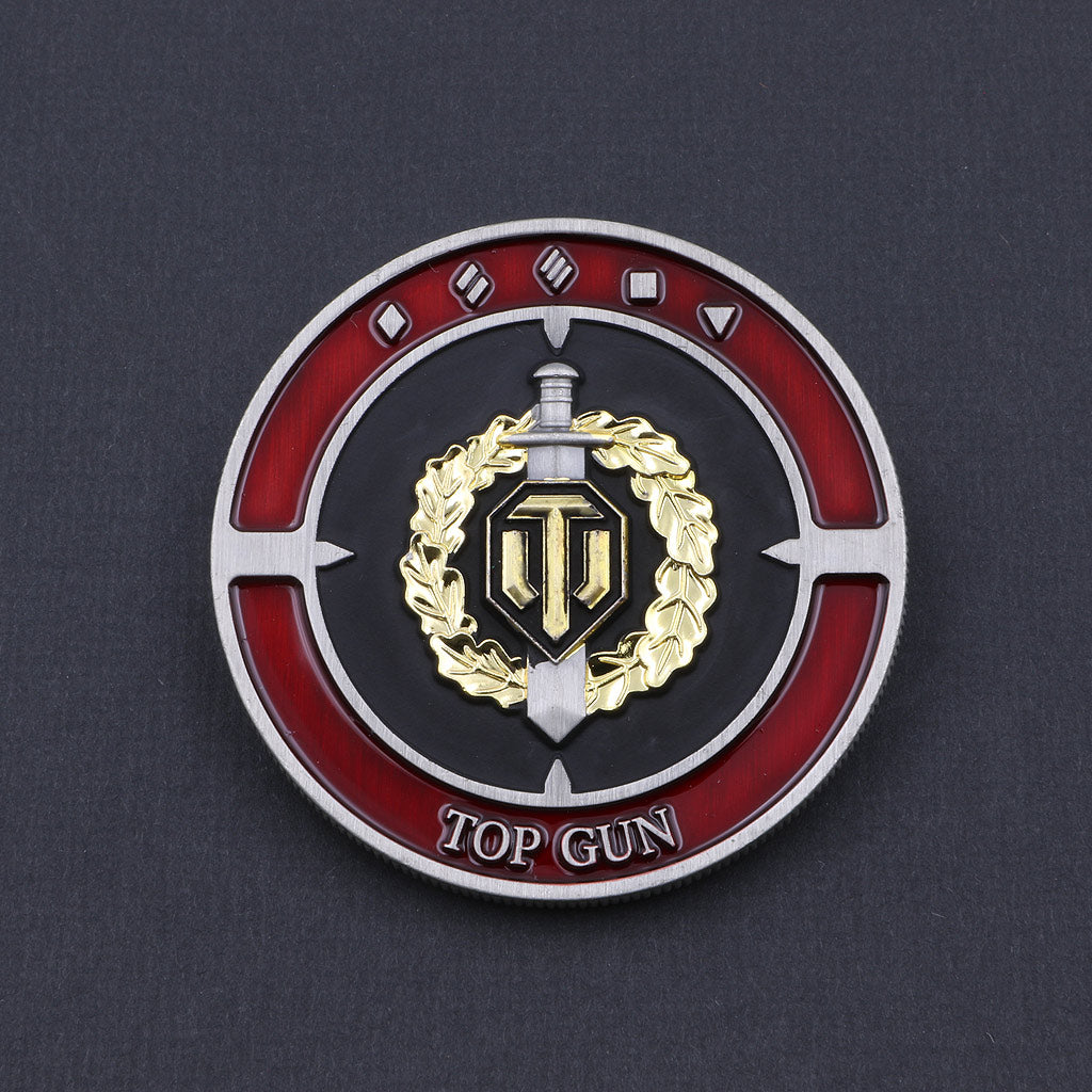 World of Tanks Top Gun Coin - The Koyo Store