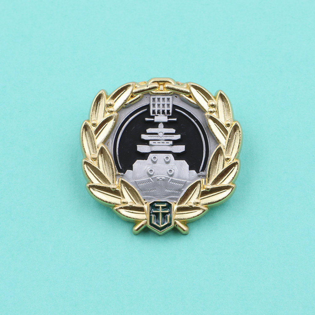 World of Warships Dreadnought Pin - The Koyo Store