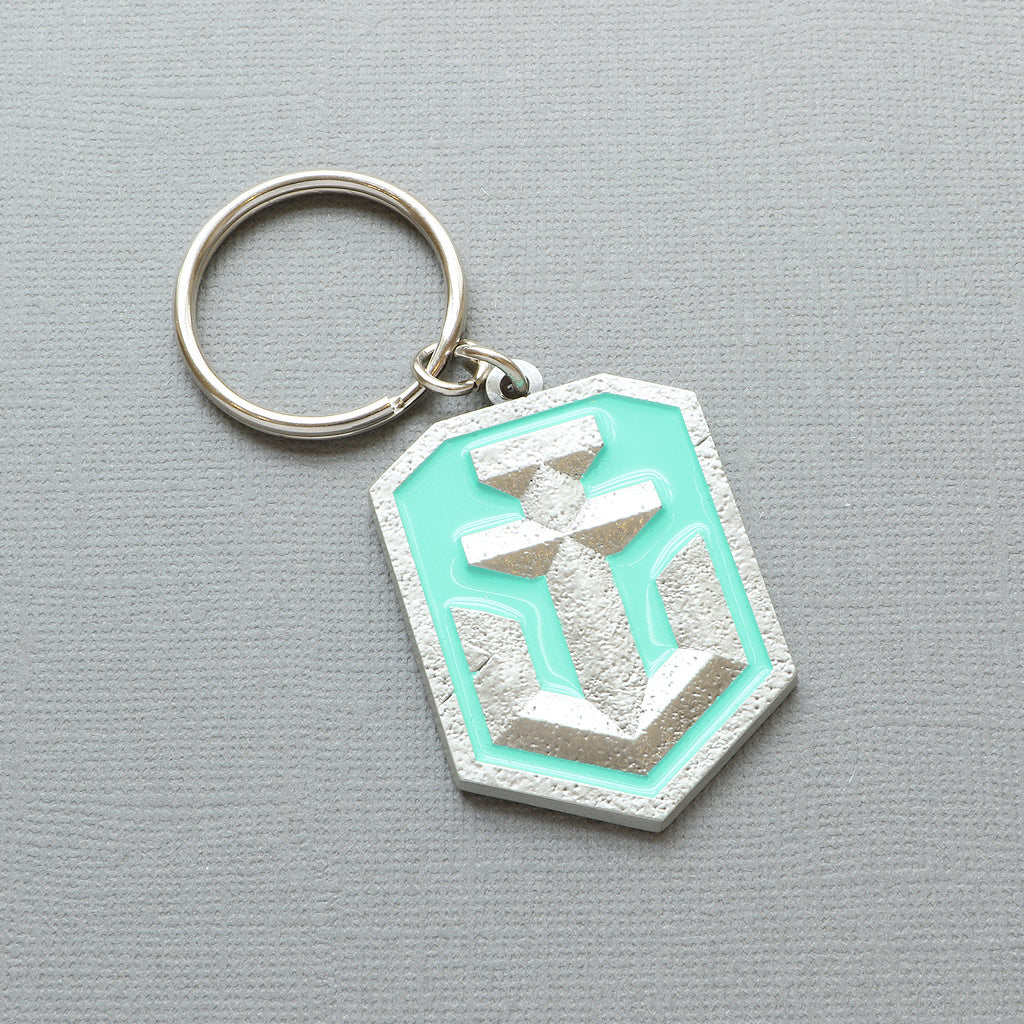 World of Warships Logo Keyring - The Koyo Store