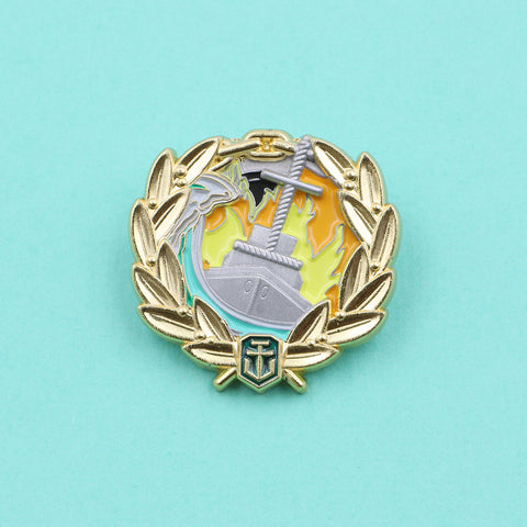 World of Warships Witherer Pin - The Koyo Store
