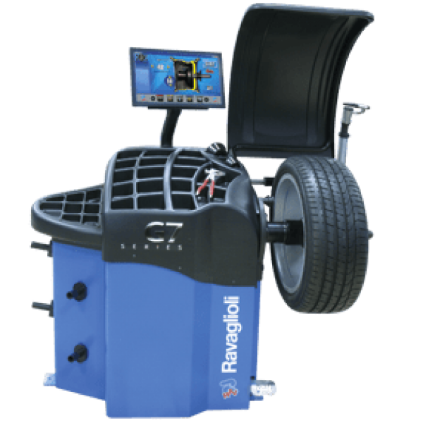 RAV G4.140SCAN Fully Automatic Wheel Balancer