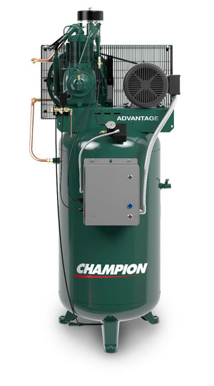 Champion HRV7-12 - 7.5 HP 120 Gal. Horizontal Air Compressor