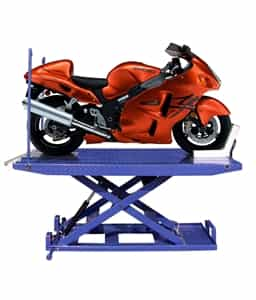ProKar PKMC1500C - 1500 lb. Capacity Motorcycle Lift with Vise, Sides, Balance Bar, Pump