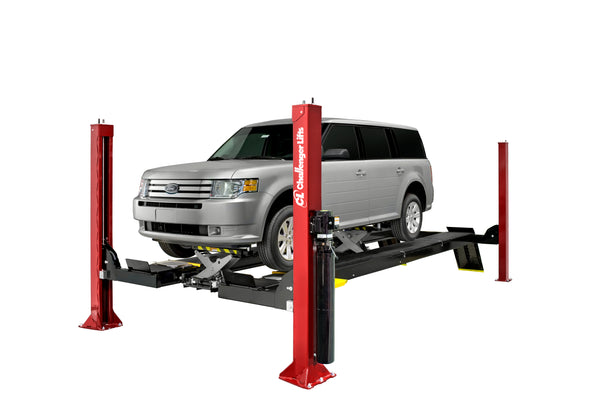 Challenger 4015EFO - 15,000 lb. Capacity Four Post Lift with SUV