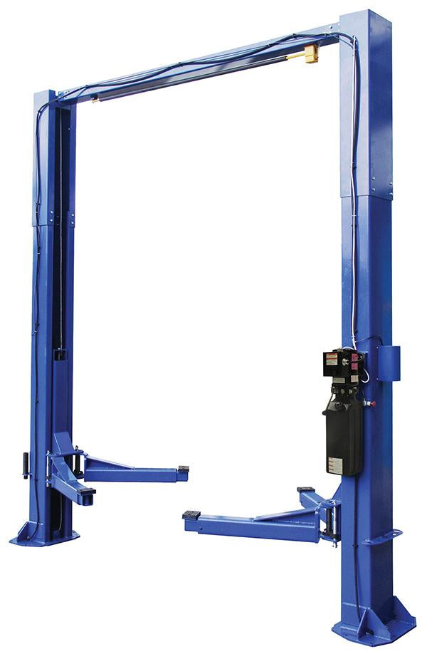 ProKar PK9TPC- 9,000 lb. Capacity 2 Post Clear Floor Lift with SPX Power Unit