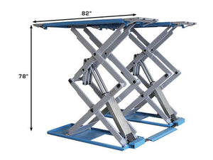Atlas SLP-9K - 9,000 lb. Capacity Full-Rise Scissor Lift