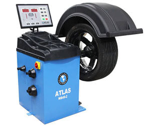 Atlas WB49-2 - Self-Calibrating Wheel Balancer