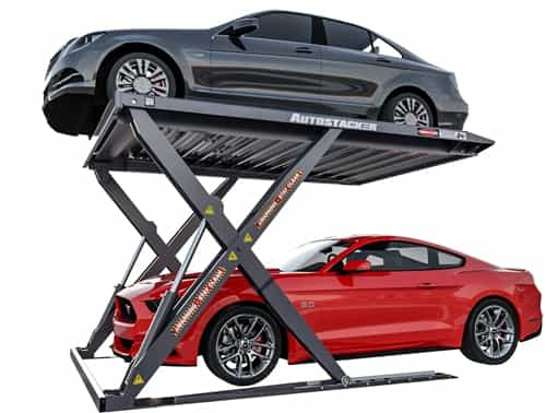 BendPak Galvanized Autostacker - Outdoor Parking Lift