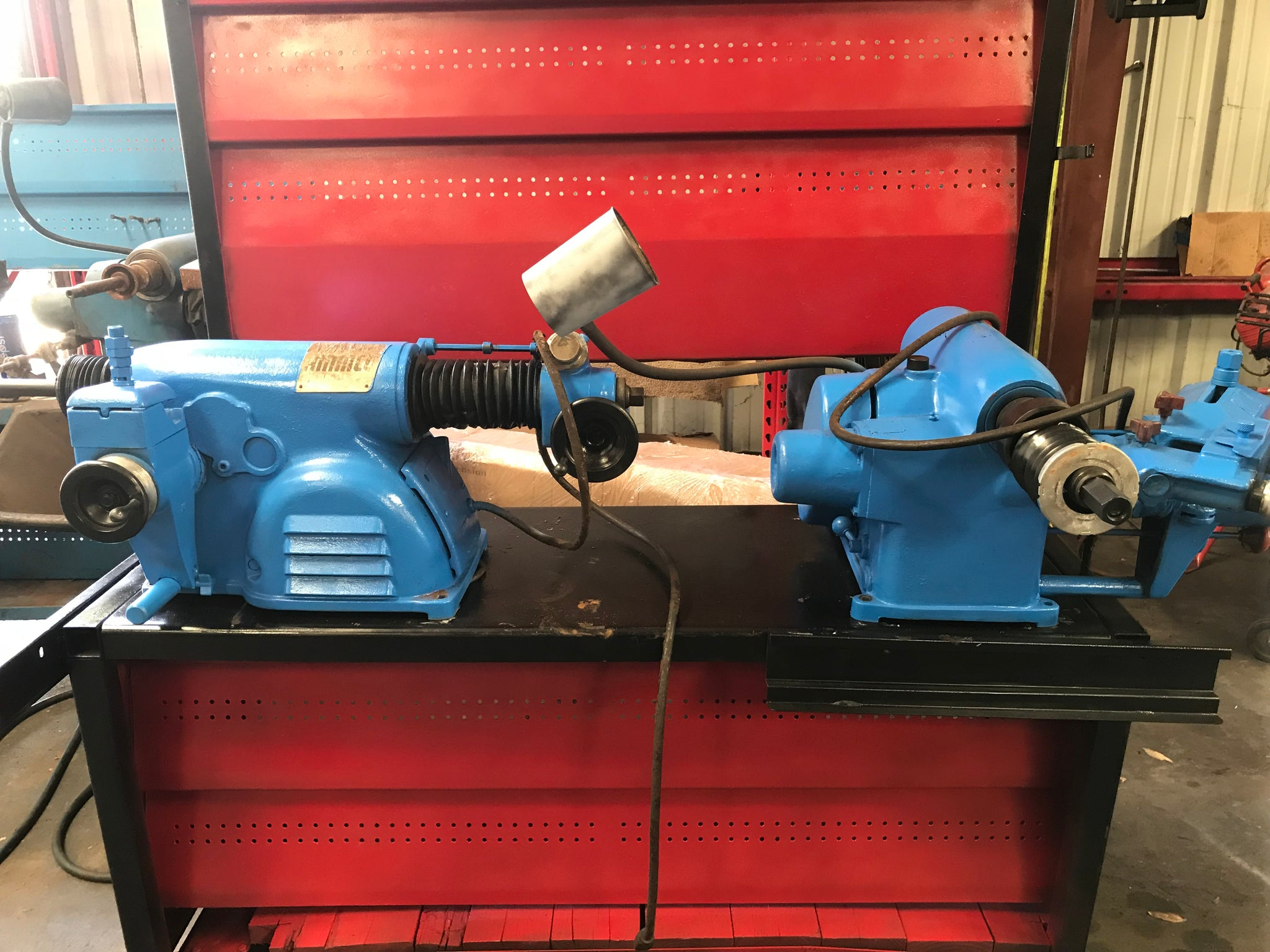 used ammco 4000b - brake lathe combination disc and drum