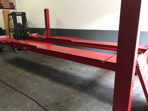 USED Hunter L421 - 14,000 lb. Capacity 4-Post Alignment Lift