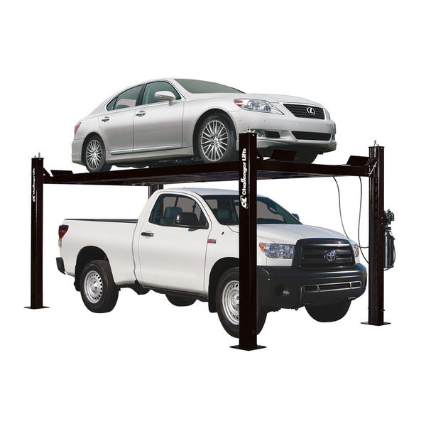 Challenger CL4P9S - 9,000 lb. Capacity 4 Post Lift