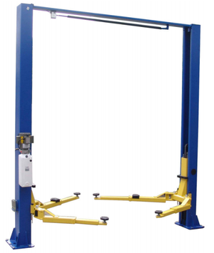Prokar PK9KSCX - 9,000 lb. Capacity Symmetric Clear Floor - Two Post Lift
