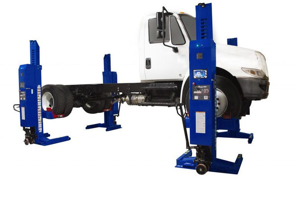 Challenger CLHM-140 (Set of 4) - 56,000 lb. Capacity Mobile Column Lift