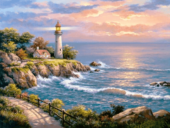 Lighthouse and The Sea