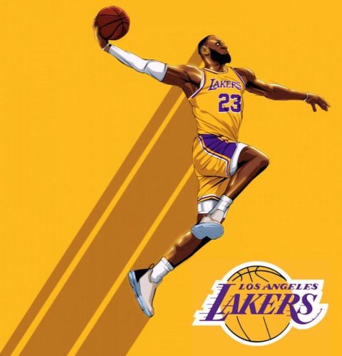 King James Lakers 2020