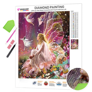 Diamond Painting - Beautiful Fairies