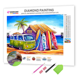 Diamond Painting - Trip to The Beach