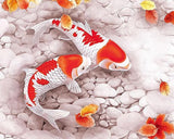 Red & White Fishes