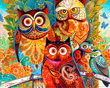 Load image into Gallery viewer, Colorful Owl