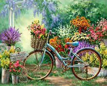 Load image into Gallery viewer, Flowers And Bicycles
