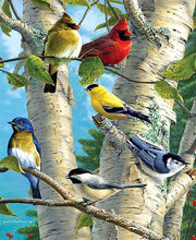 Load image into Gallery viewer, Birds On Tree